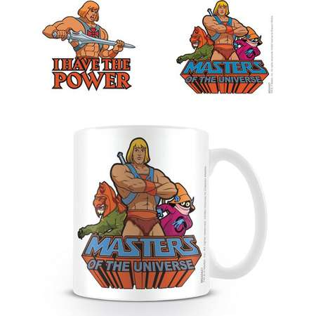 Masters Of The Universe - Ceramic Coffee Mug / Cup (He-Man - I Have The Power) thumb