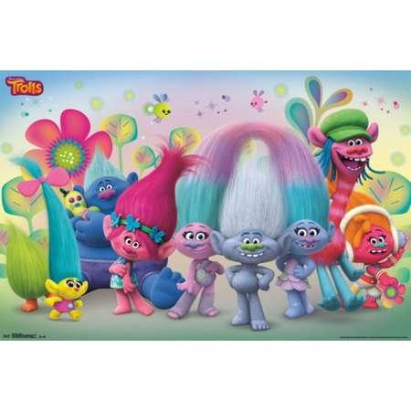 Trolls - Group Poster Print thumb