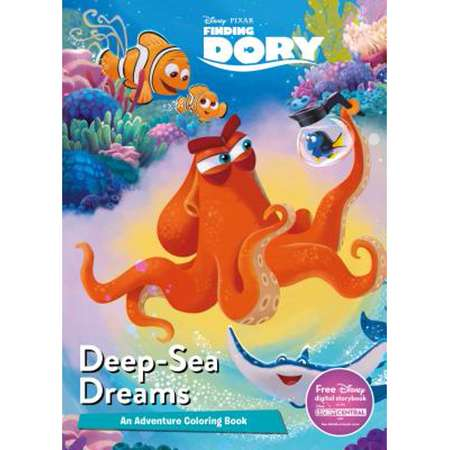 Disney Pixar Finding Dory Deep-Sea Dreams: An Adventure Coloring Book (Paperback) thumb