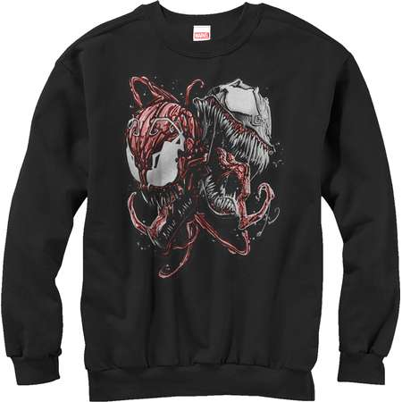 Marvel Men's Carnage and Venom Sweatshirt thumb