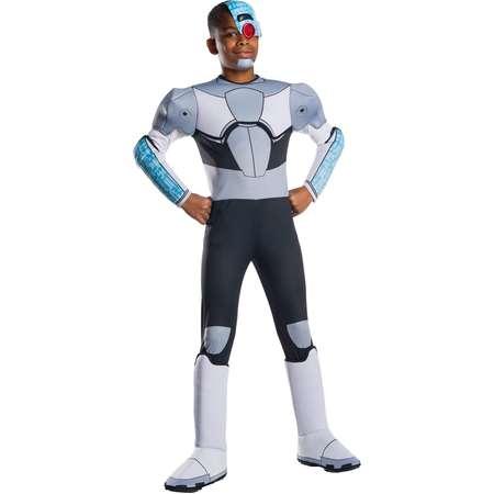 Teen Titans Go Movie Boys Deluxe Cyborg Halloween Costume thumb