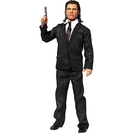 "Vincent Vega 13"" Explicit Talking Figure, Vincent Vega action figure speaks the 12 [EXPLICIT] phrases By Pulp Fiction thumb"