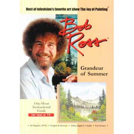 BOB ROSS THE JOY OF PAINTING-GRANDEUR OF SUMMER (DVD) (DVD) thumb