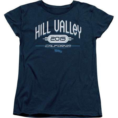 Back To The Future II Science Fiction Movie Hill Valley 2015 Women's T-Shirt Tee thumb