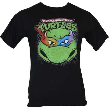 Teenage Mutant Ninja Turtles TMNT  Mens T-Shirt -  Four Colored Masked Turtle thumb