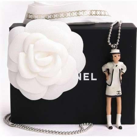 Chanel Coco Figurine Pendant ( w/ Flip Book ) 218064 thumb