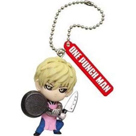 One Punch Man Figure Mascot Keychain Gashapon Pt 2 - Genos thumb