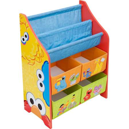 Sesame Street Book and Toy Organizer thumb