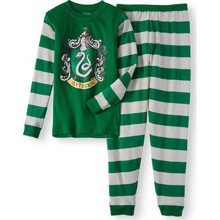 Harry Potter Slytherin House Crest Cotton Pajama Set (Boys & Girls) thumb