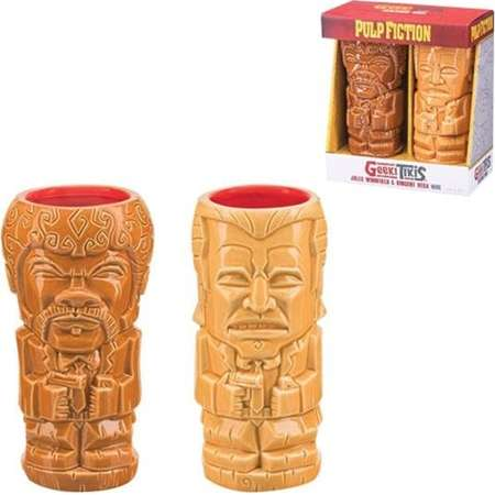 Pulp Fiction Geeki Tikis Mug 2-Pack Set ( Number of Pieces per case: 2) thumb