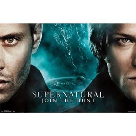 Supernatural - Faces Poster Print thumb