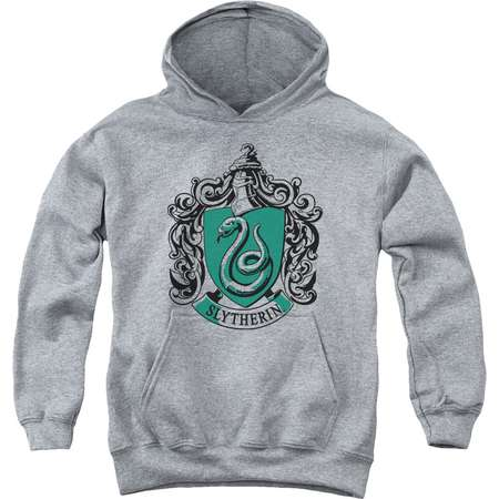Harry Potter Slytherin Crest Big Boys Youth Pullover Hoodie thumb