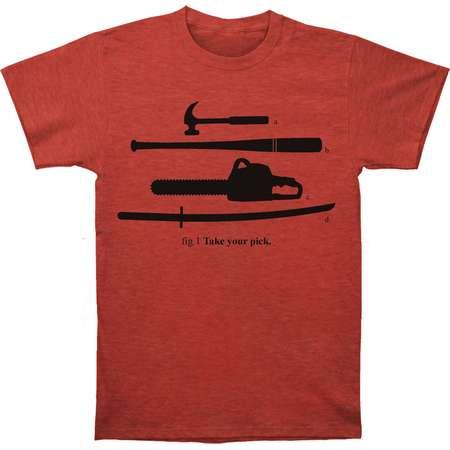 Pulp Fiction Men's  Take Your Pick Slim Fit T-shirt Heather thumb