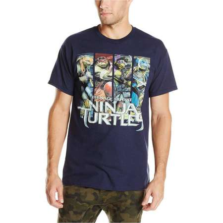 Teenage Mutant Ninja Turtles Men's 4-Panels Ninja Turtles 2014 Movie T-Shirt thumb