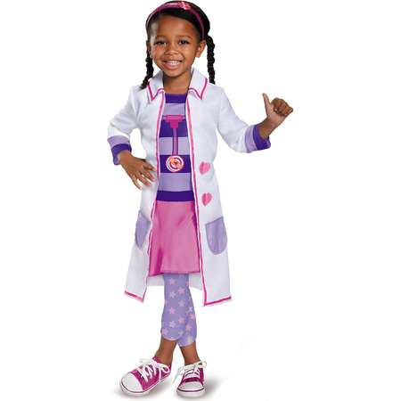 Doc McStuffins Toy Hospital Classic Costume for Toddler thumb