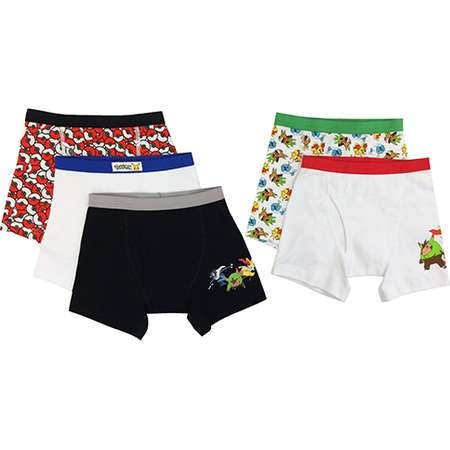 Pokemon Boys Boxer Briefs, 5 Pack thumb