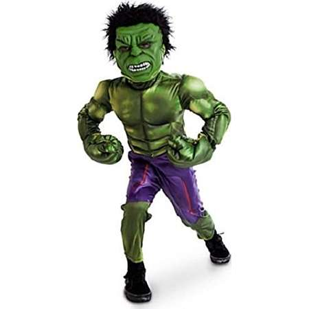 Disney Store The Incredible Hulk Marvel Avengers Boys Costume Size 9-10 thumb