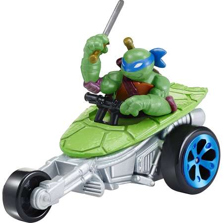 T-Machines Leonardo in Stealth Bike Diecast VehicleYou can collect the entire world of T-Machines By Teenage Mutant Ninja Turtles thumb