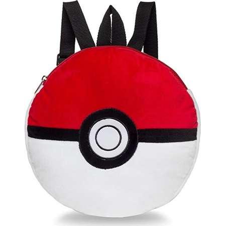 Plush Backpack - Pokemon - Poke Ball Soft Doll Toys New 853492 thumb