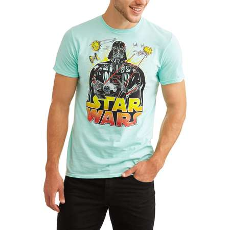 Star wars Men's darth Vader threat graphic tee thumb