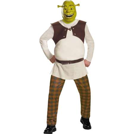 Morris Costumes DG86358C Shrek Deluxe Adult Costume, Size 50-52 thumb