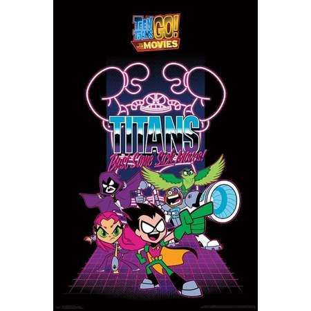 Teen Titans Movie - Group Poster Print thumb