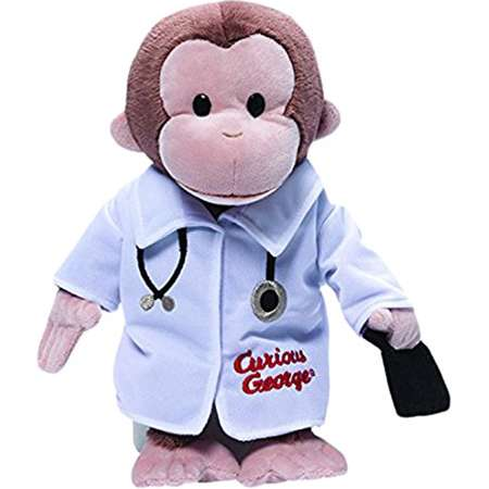 Curious George Doctor By GUND thumb