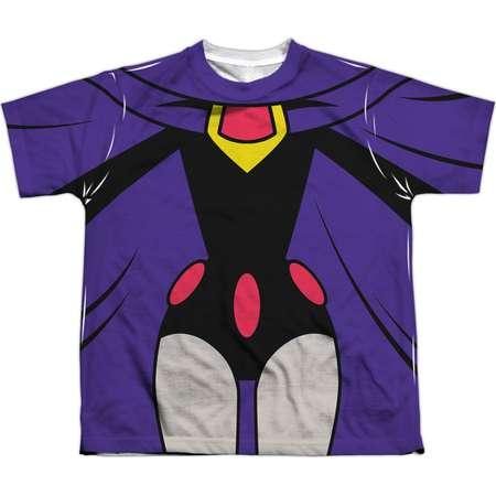 Teen Titans Go Men's  Raven Uniform Sublimation T-shirt White thumb