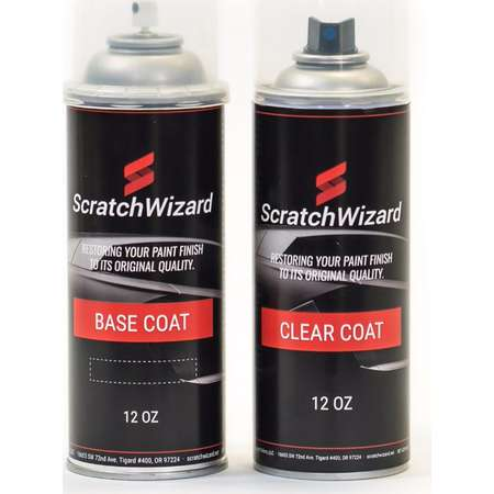 Automotive Spray Paint for Mitsubishi Outlander B548P (Deep Sapphire Blue Pearl) Spray Paint + Spray Clear Coat by Scratchwizard thumb