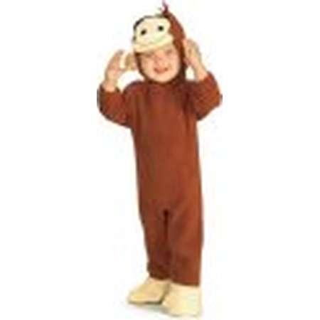 Newborn Curious George Costume Rubies 885214 thumb