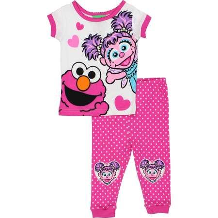 Sesame Street Baby Girls Pajamas 21SS217VSL thumb