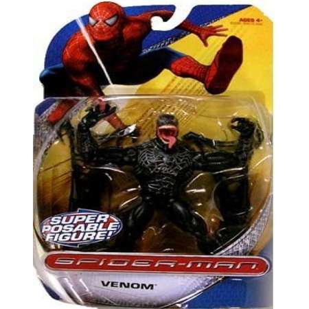 Spider-Man Trilogy Action Figures Villains Wave Venom thumb