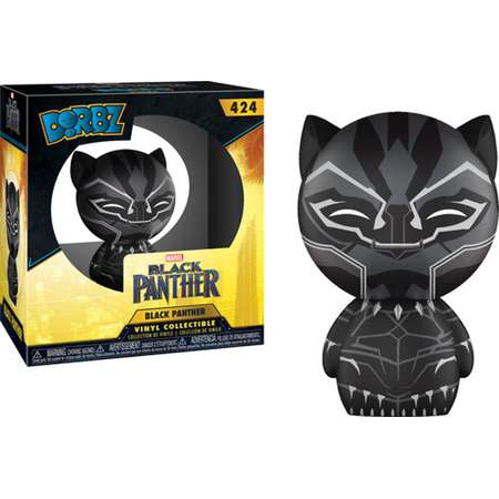 FUNKO DORBZ: Black Panther - Black Panther thumb