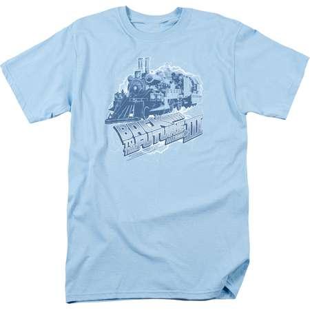 Back To The Future III Time Train Mens Short Sleeve Shirt thumb
