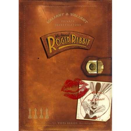 Who framed Roger Rabbit Movie Poster Kiss 11x17 Mini Poster thumb