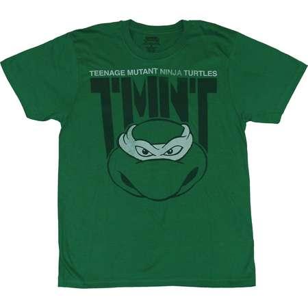 Teenage Mutant Ninja Turtles TMNT Mens T-Shirt  - TMNT Over Turtle Head Drawin thumb
