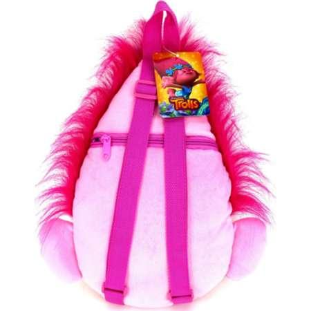 Dreamworks Trolls Head Plush Toy Backpack - Poppy thumb