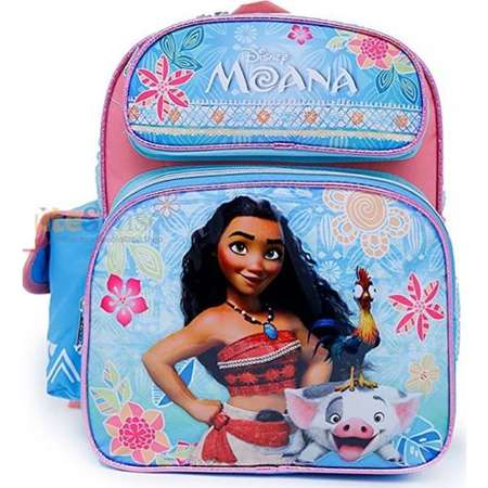 "Disney Moana School Backpack 12"" Medium Girls Book Bag-Blue thumb"