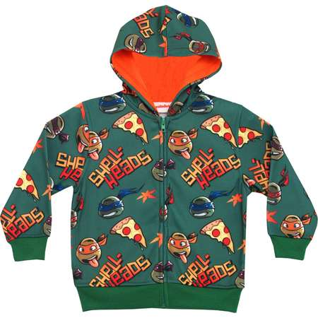 Teenage Mutant Ninja Turtles Shell-Heads Zip Up Juvy Hoodie Sweatshirt thumb