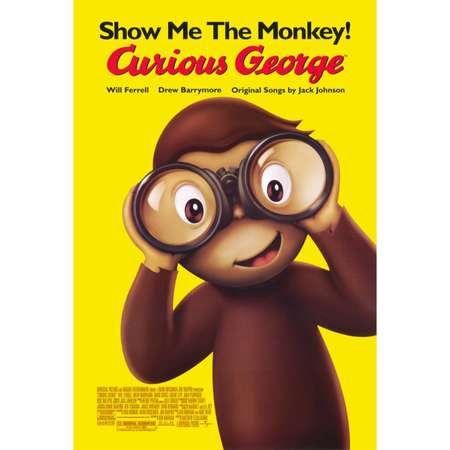 Curious George (2006) 27x40 Movie Poster thumb