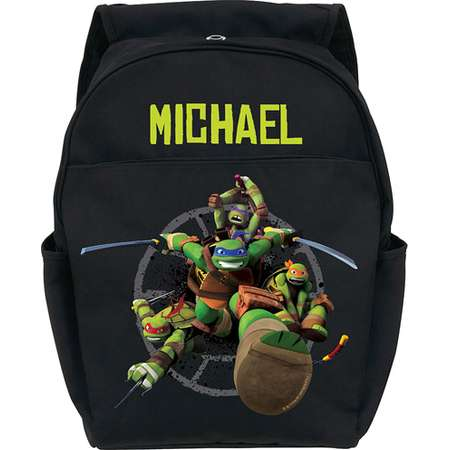 Personalized Teenage Mutant Ninja Turtles Protect Black Youth Backpack thumb