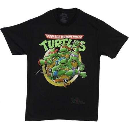 Teenage Mutant Ninja Turtles Group Adult T-Shirt thumb