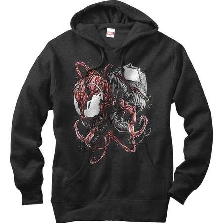 Marvel Men's Carnage and Venom Hoodie thumb