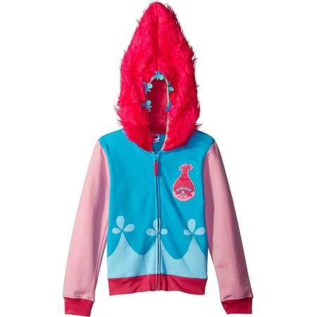 Trolls Movie Little Girls Costume Zip Hoodie, 14 thumb