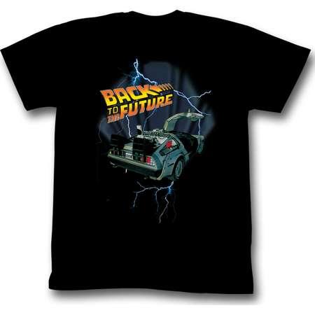 American Classics Back To The Future Lightning Car T Shirt thumb