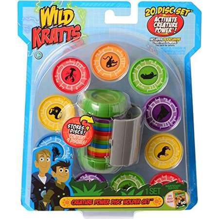 Wild Kratts Toys Creature Power Disc Holder Set With 20 Discs