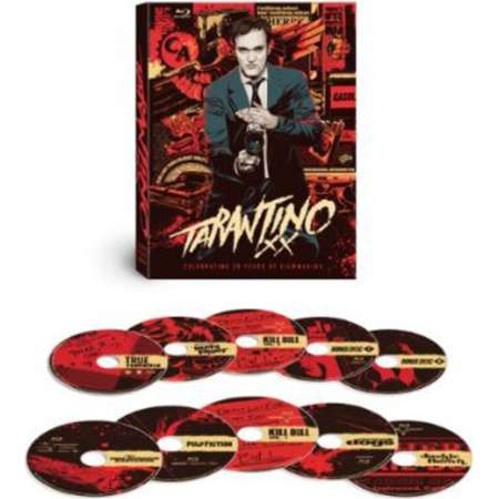 tarantino xx: 8-film collection (reservoir dogs / true romance / pulp fiction / jackie brown / kill bill: vol. 1 / kill bill: vol. 2 / death proof / inglourious basterds) [blu-ray] thumb