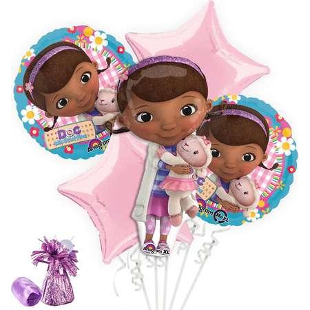Doc McStuffins Balloon Bouquet Kit thumb