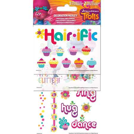 Sticker Decoration Medley - Trolls - New Toys Gifts sc5079 thumb