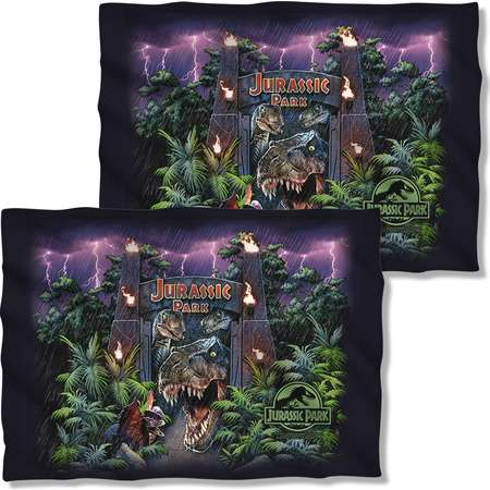 Jurassic Park Welcome To The Park Pillow Case White One Size thumb